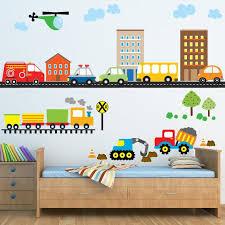 Boys Car Wall Decal Car Wall Decals Truck Wall Decals Etsy In 2020 Kids Wall Decals Boys Wall Decals Nursery Wall Decals