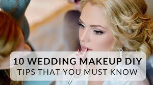wedding makeup diy tips that you must know