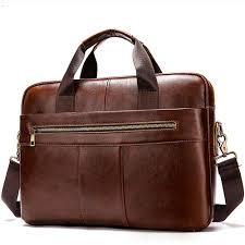 genuine leather bag for men