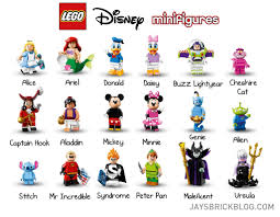 review lego disney minifigures jay s