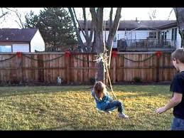 homemade zipline you