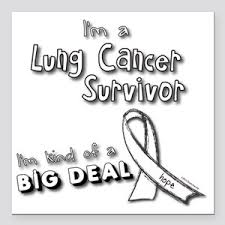 Lung Cancer Car Magnets Cafepress