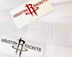 Rockets Decal Etsy