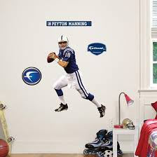 Peyton Manning Fathead Junior Wall Decal Allposters Com