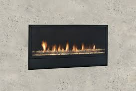 modern vent free natural gas fireplace