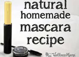 homemade natural mascara recipe
