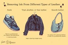 remove ink stains from clothes and leather