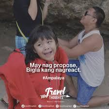 best hugot lines on love travel and work tagalog