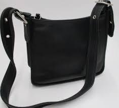 black leather legacy shoulder purse