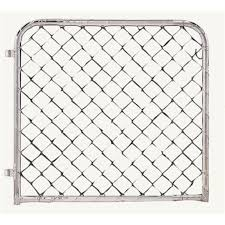 Eufofence Chainlink Gate 0 98x0 92m Bunnings Warehouse