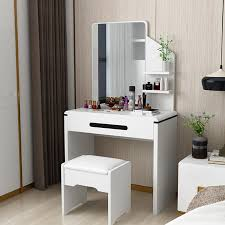 bedroom vanity mirror small apartment