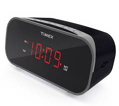 ihome t121 timex alarm clock with 0 7