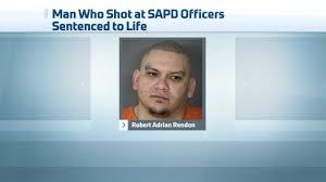 Man Who Shot at SAPD Officers Gets Life Sentence