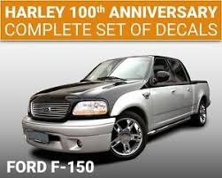 2003 Ford F 150 Harley Davidson 100th Anniversary Vinyl Stripes Decals 501 Ebay