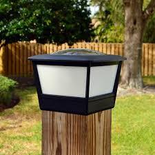 5 5 Fence Post Cap Solar Light By Free Light 5 5x5 5 Coach Plus Post Cap Solar Light