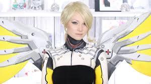 mercy overwatch makeup tutorial cosplay