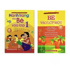 Combo Sách Chuẩn Bị Cho Bé Vào Lớp 1: Hành Trang Cho Bé Vào Lớp 1 ...