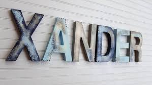 Name Sign For Kids Boy Name Letters Girl Name Letters Etsy Trendy Baby Girl Names Art Wall Kids Rustic Kids