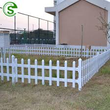 China White Pvc Picket Fence Panel Lawn Perimeter Fence Prices China Pvc Picket Fence Small Garden Fence