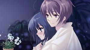 beautiful anime couple wallpaper hd