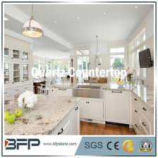kitchen countertop of quartz stone