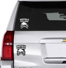 Buffalo Club Bullet Club Car Vinyl Decal Wwe Roh Njpw Etsy