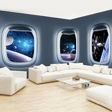Mobel Wohnen 3d Spaceship Galaxy Planet Universe Wall Sticker Mural Kids Room Art Decal Decor Maybrands Com Ng