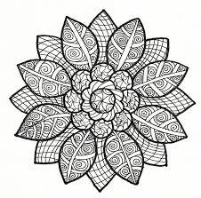 Kleurplaat Herfst Mandala Kleurplaten Kleurplaten Mozaiekpatronen