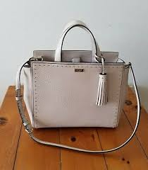 NWT Kate Spade Abby West Street Pumice(206) Leather Satchel 98687209526 |  eBay