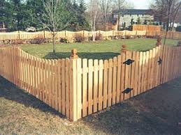394980 Scallopedpicket Jpg 300 225 This Would Look Nice In The Back Yard Backyard Fences Fence Design Wood Fence