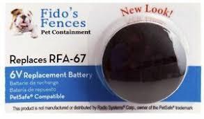 Fido S Fences Brand Ff 67 Pet Safe Compatible Rfa 67 Battery Ebay
