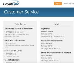 credit one customer service plaints