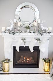 mantel decorating ideas with