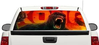 Product King Kong Movie Rear Window Decal Sticker Pick Up Truck Suv Car