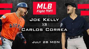 Houston! Joe Kelly vs Carlos Correa ...