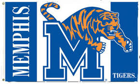 University Of Memphis Tigers Printed 3 X 5 Flag Bsi