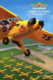 Piper Aircraft Poster Painting By Robin Moline
