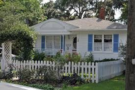 The Goat White Picket Fence