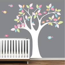 Decals For Nursery Owls Birds Tree Decal Baby Room Decals Nursery Wall Decor E23 Vinyl Tree Wall Decal Baby Room Decals Nursery Wall Decals Tree