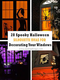 28 Spooky Halloween Silhouette Ideas For Decorating Your Windows