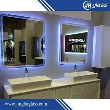 china wall mounted silver vanity mirror