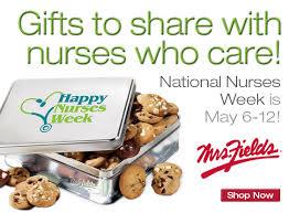 mrs fields cookies national nurses