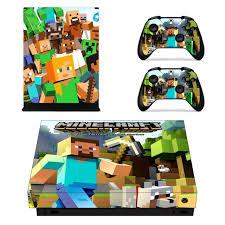 Minecraft Skin Sticker Decal For Xbox One X Design 2 Consoleskins Co