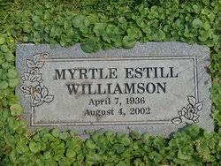Myrtle Estill Williamson (1936-2002) - Find A Grave Memorial