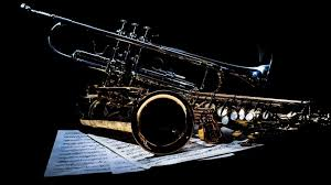 saxophone and trumpet hd wallpaper