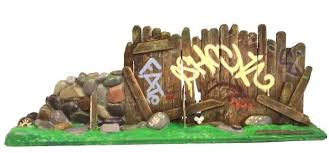 Fun Urban Blight Popsicle Stick And Graffiti Art Project For Kids Boing Boing