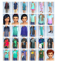 The Sims 4 Blogger The Sims 4 Kids Room Cas And Build Items