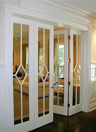 Faux Fake Mirror Decal Wallpaper Peel And Stick 36 W X 144 L Home Interior Design Closet Door Makeover Design