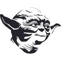 Design With Vinyl Yoda Walmart Com