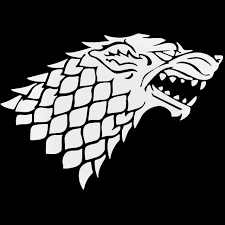 House Stark Wolf Game Of Thrones Decal Sticker